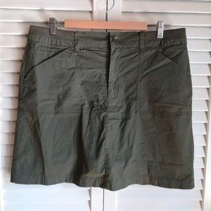 Croft & Barrow Cotton Skort Size 14
